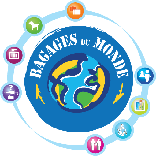 Image result for bagages du Monde logo